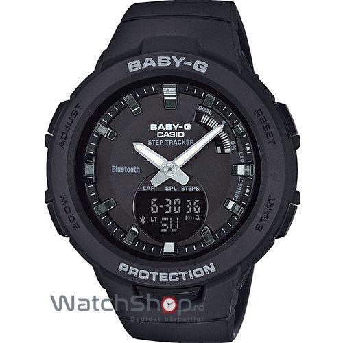 Ceas Casio Baby-G BSA-B100-1AER G-Squad Step Tracker original pentru dama