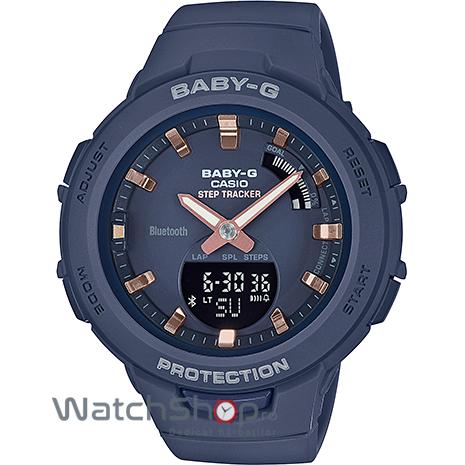 Ceas Casio Baby-G BSA-B100-2AER G-Squad Step Tracker original pentru dama
