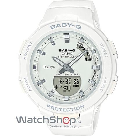 Ceas Casio Baby-G BSA-B100-7AER G-Squad Step Tracker original pentru dama