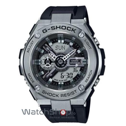 Ceas Casio G-SHOCK GST-410-1A G-STEEL original pentru barbati