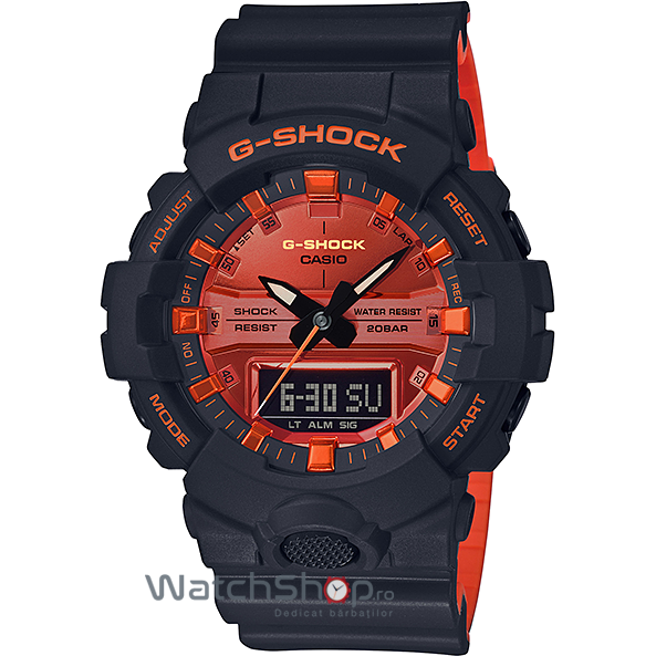 Ceas Casio G-Shock GA-800BR-1AER original pentru barbati