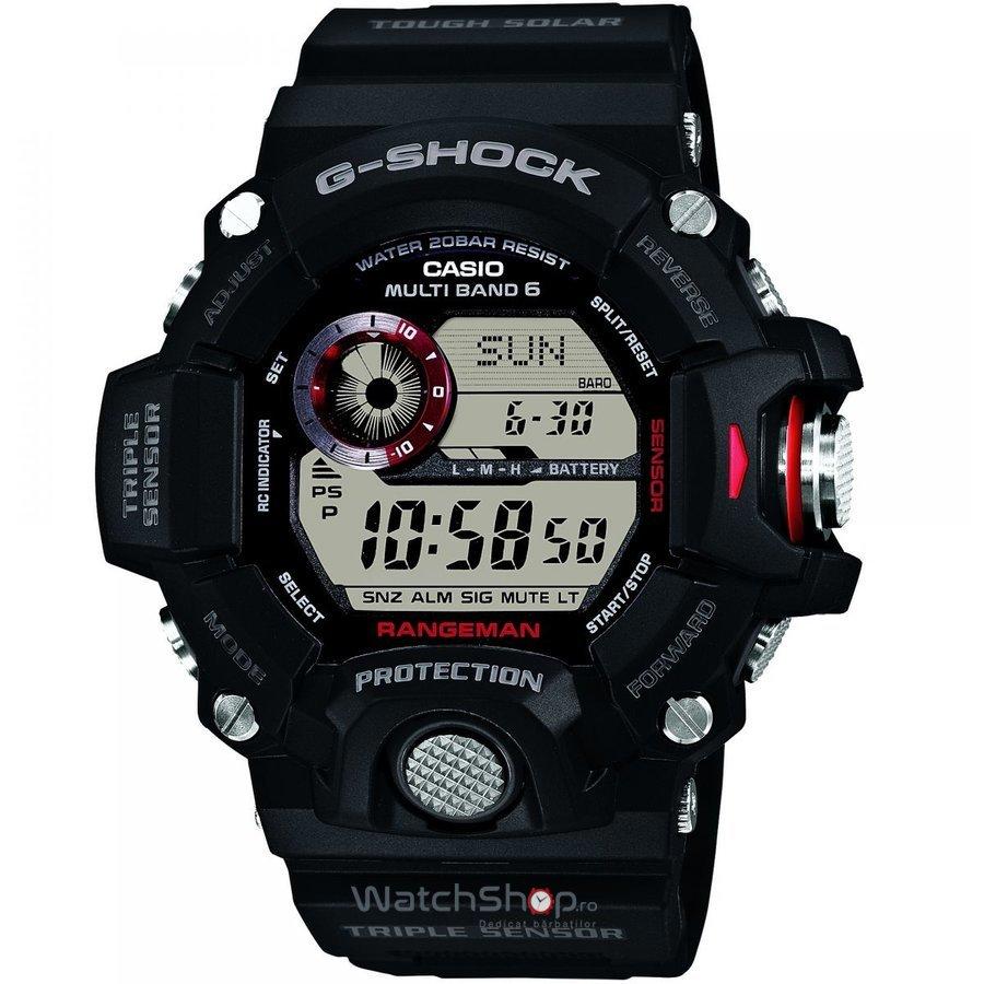 Ceas Casio G-Shock Solar Rangeman GW-9400-1D original pentru barbati