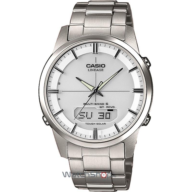 Ceas Casio LINEAGE LCW-M170TD-7AER Waveceptor original pentru barbati