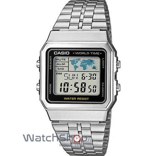 Ceas Casio RETRO A500WEA-1E original pentru barbati