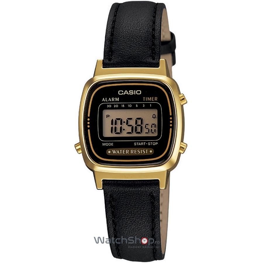 Ceas Casio RETRO LA670WEGL-1EF original pentru dama