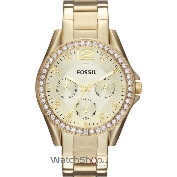 Ceas Fossil RILEY ES3203 Multifunction original pentru dama