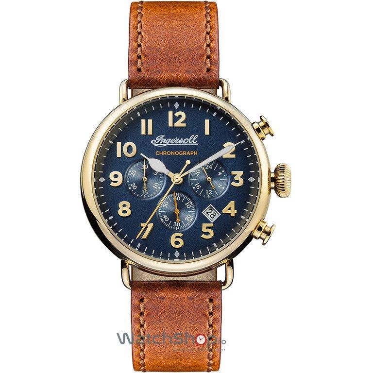 Ceas Ingersoll THE TRENTON I03501 Cronograf original pentru barbati