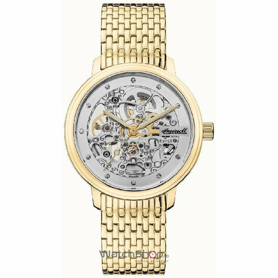 Ceas Ingersoll The Crown I06103 Automatic Skeleton original pentru dama