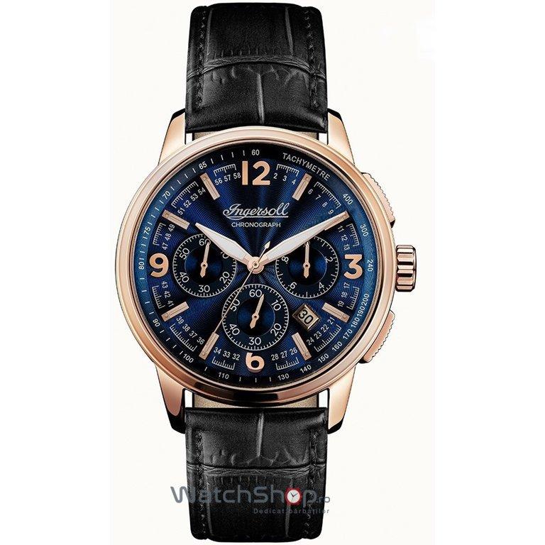 Ceas Ingersoll The Regent I00105 Chronograph original pentru barbati