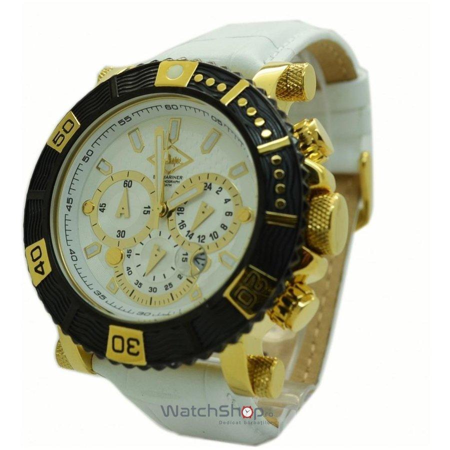 Ceas LeeCooper LC-090710-C1BWW Cronograf original pentru barbati