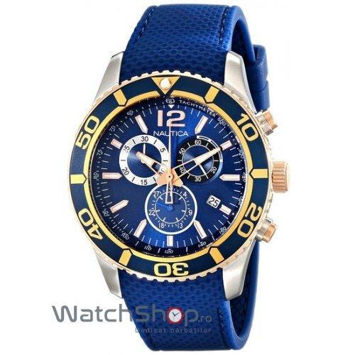 Ceas Nautica 3 Hands NAD16502G original pentru barbati
