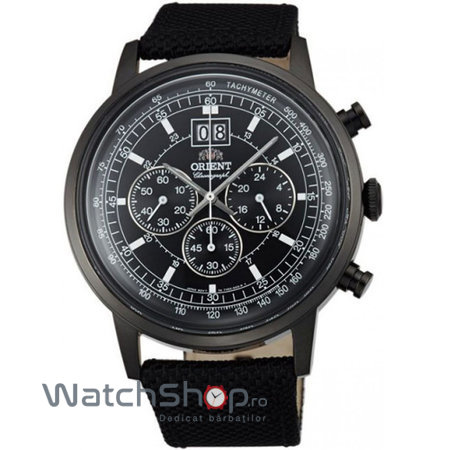 Ceas Orient CLASSIC DESIGN FTV02001B Cronograf original pentru barbati