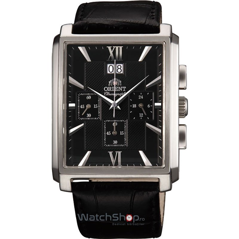 Ceas Orient CLASSIC FTVAA003B0 Cronograf original pentru barbati
