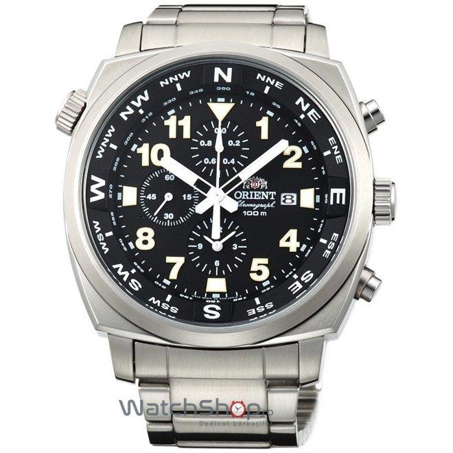 Ceas Orient PILOT FTT17001B Cronograf original pentru barbati