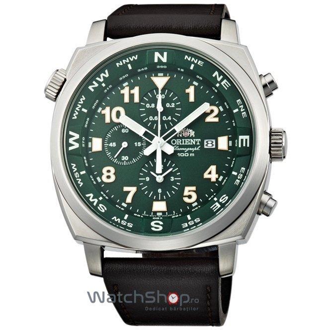 Ceas Orient PILOT FTT17004F Cronograf original pentru barbati