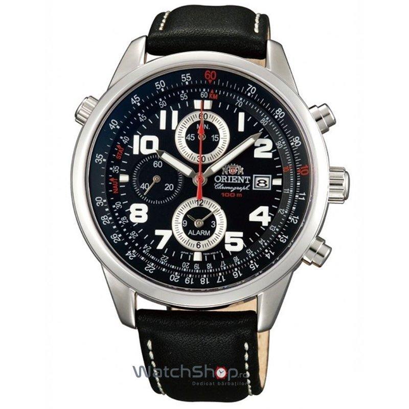 Ceas Orient SPORTY QUARTZ FTD09009B0 Cronograf original pentru barbati