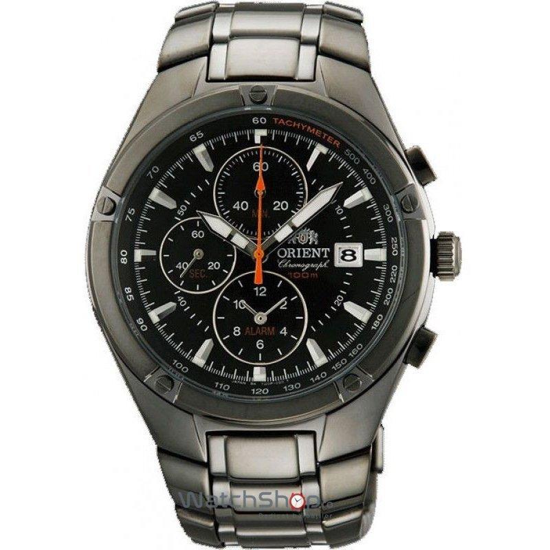Ceas Orient SPORTY QUARTZ FTD0P005B0 Cronograf original pentru barbati