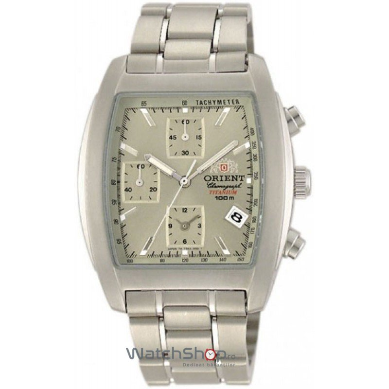 Ceas Orient SPORTY QUARTZ FTDAA001K0 Cronograf original pentru barbati