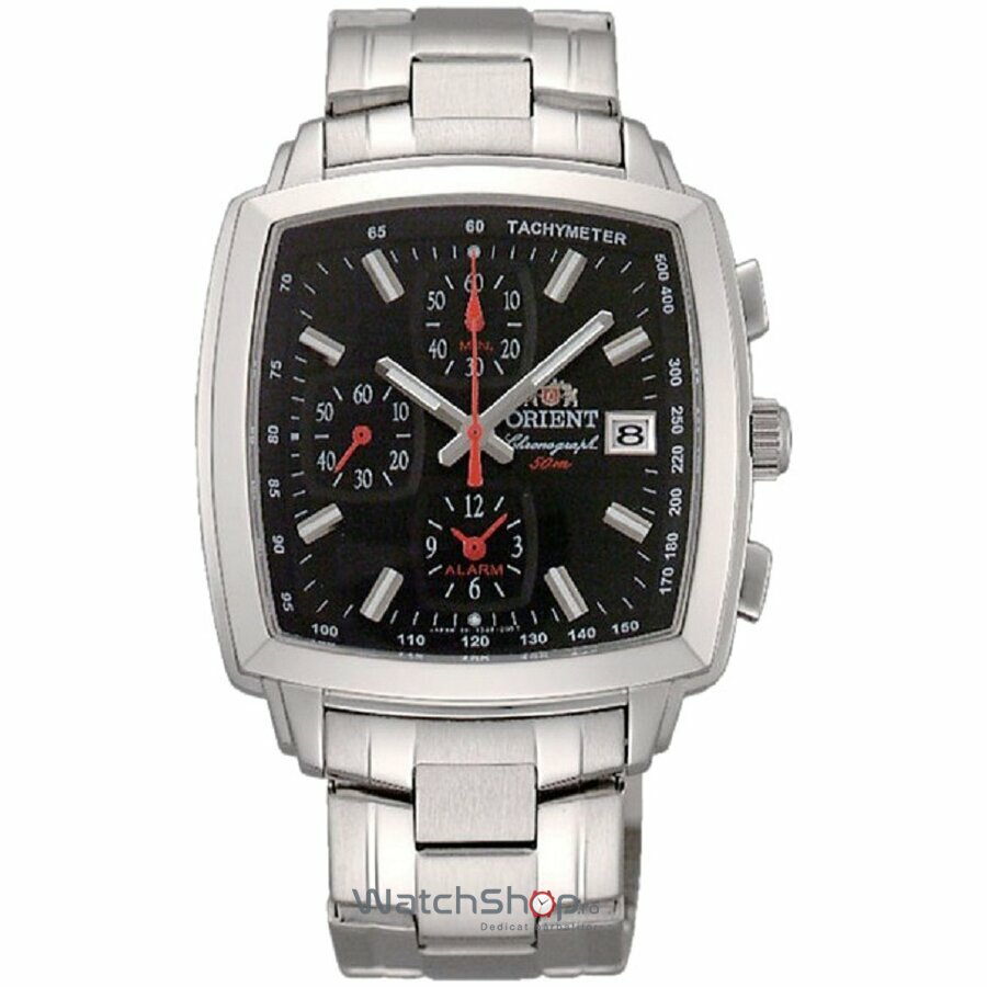 Ceas Orient SPORTY QUARTZ FTDAE003B0 Cronograf original pentru barbati