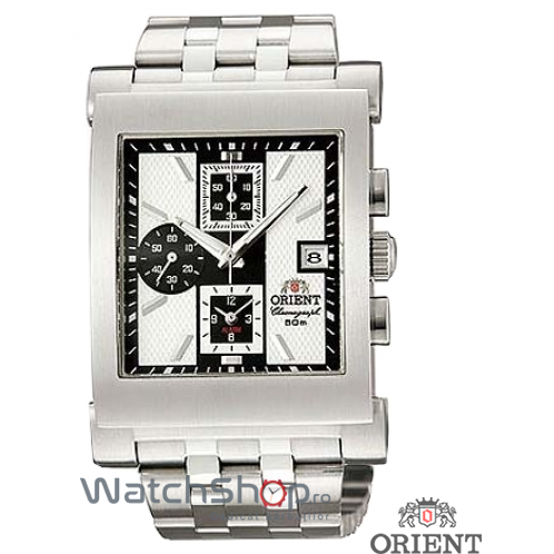 Ceas Orient SPORTY QUARTZ FTDAG004B0 Cronograf original pentru barbati