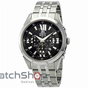 Ceas Orient SPORTY QUARTZ FTW04003B Cronograf original pentru barbati