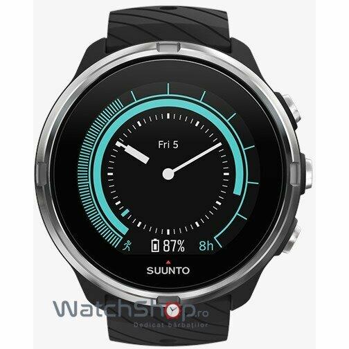 Ceas Suunto 9 SS050142000 Black original pentru barbati