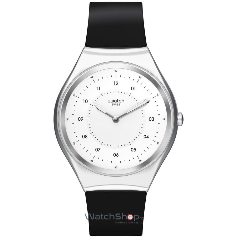 Ceas Swatch SKINNOIRIRON SYXS100 original pentru barbati