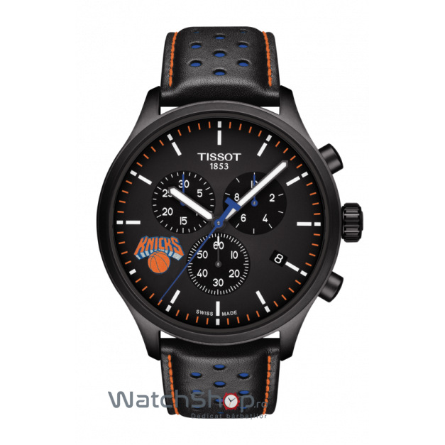 Ceas Tissot Chrono XL T116.617.36.051.05 NBA Teams Special New York Knicks Edition original pentru barbati