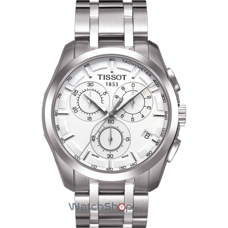 Ceas Tissot T-CLASSIC T035.617.11.031.00 Couturier original pentru barbati