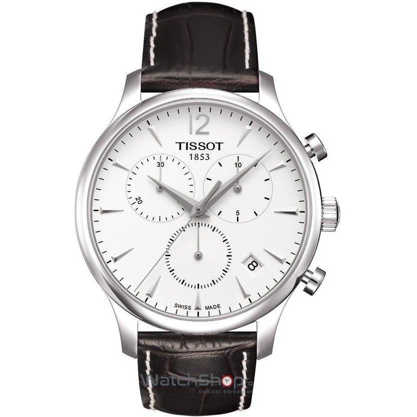 Ceas Tissot T-CLASSIC T063.617.16.037.00 Tissot Tradition Cronograf original pentru barbati