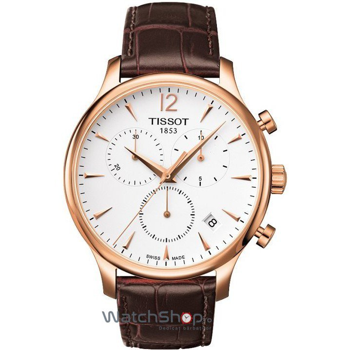 Ceas Tissot T-CLASSIC T063.617.36.037.00 Tissot Tradition Cronograf original pentru barbati