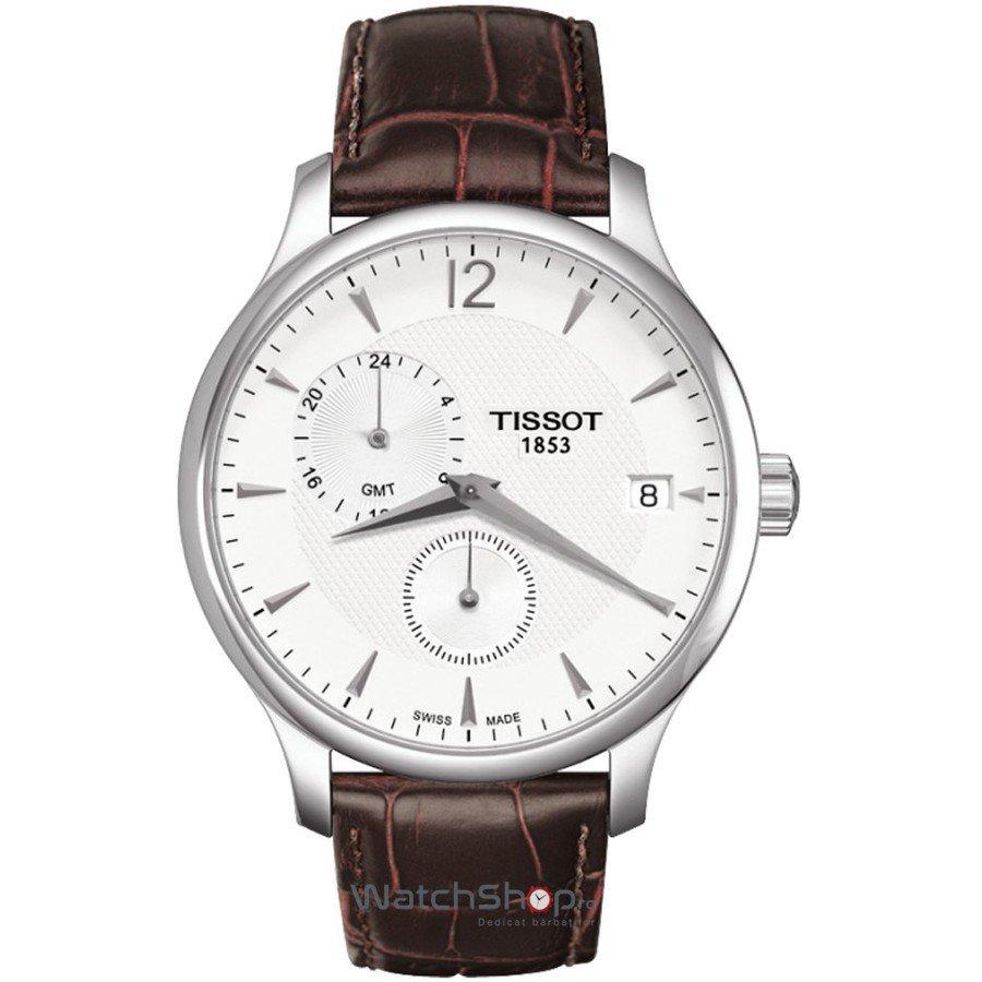 Ceas Tissot T-CLASSIC T063.639.16.037.00 Tradition GMT original pentru barbati