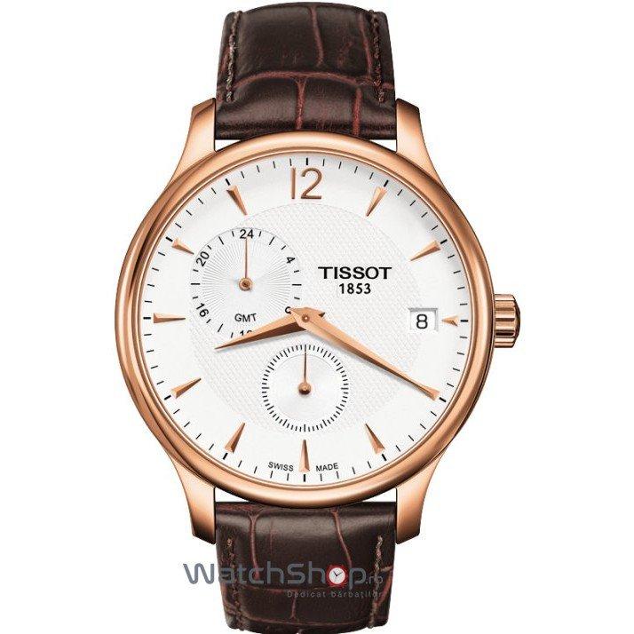 Ceas Tissot T-CLASSIC T063.639.36.037.00 Tradition GMT original pentru barbati