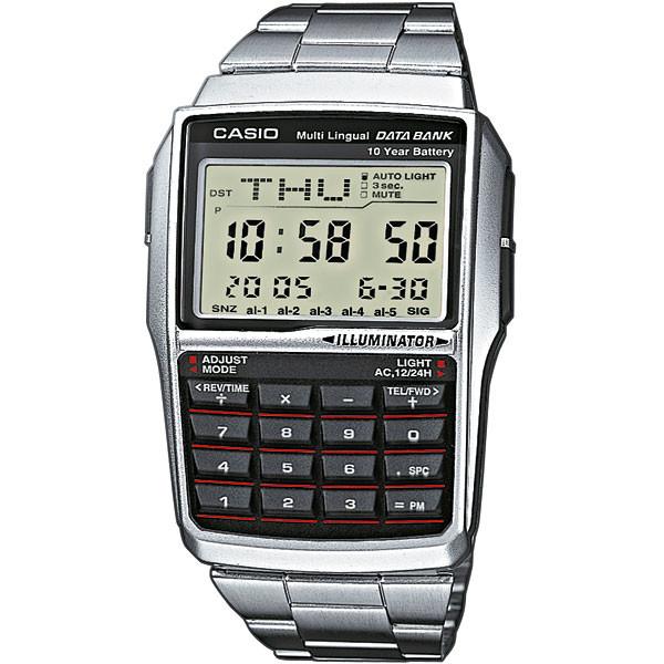 Ceas barbatesc Casio Data Bank DBC-32D-1AES original la pret mic
