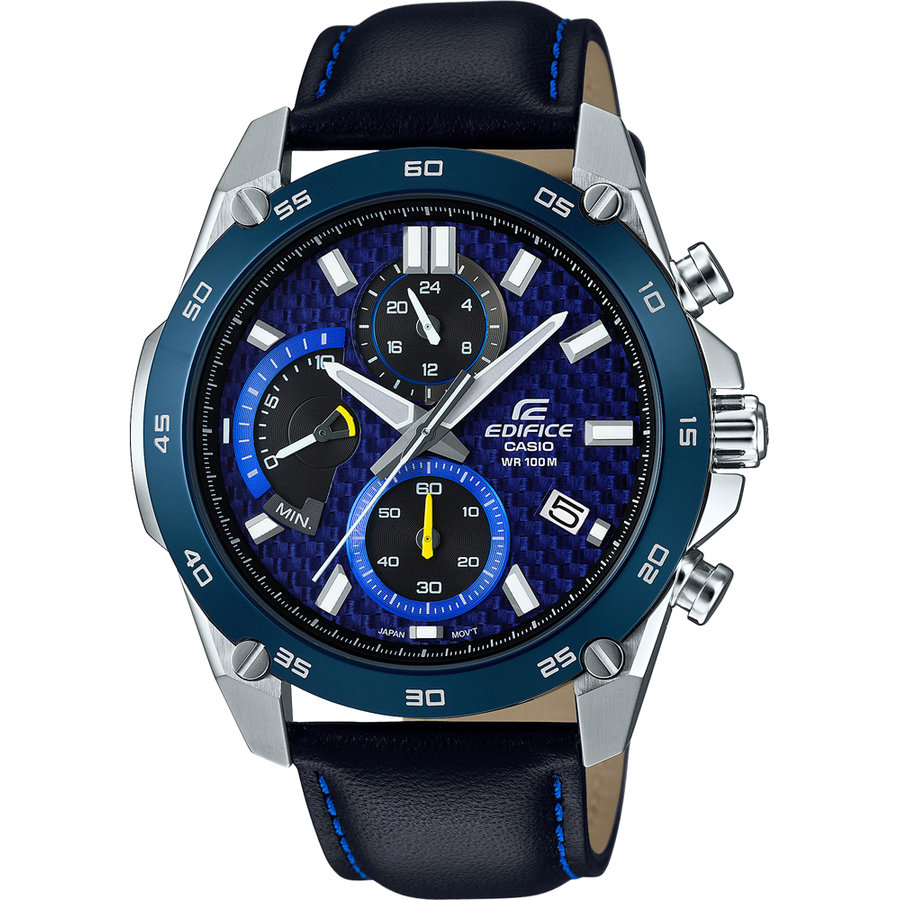 Ceas barbatesc Casio Edifice EFR-557BL-2AVUEF de mana original