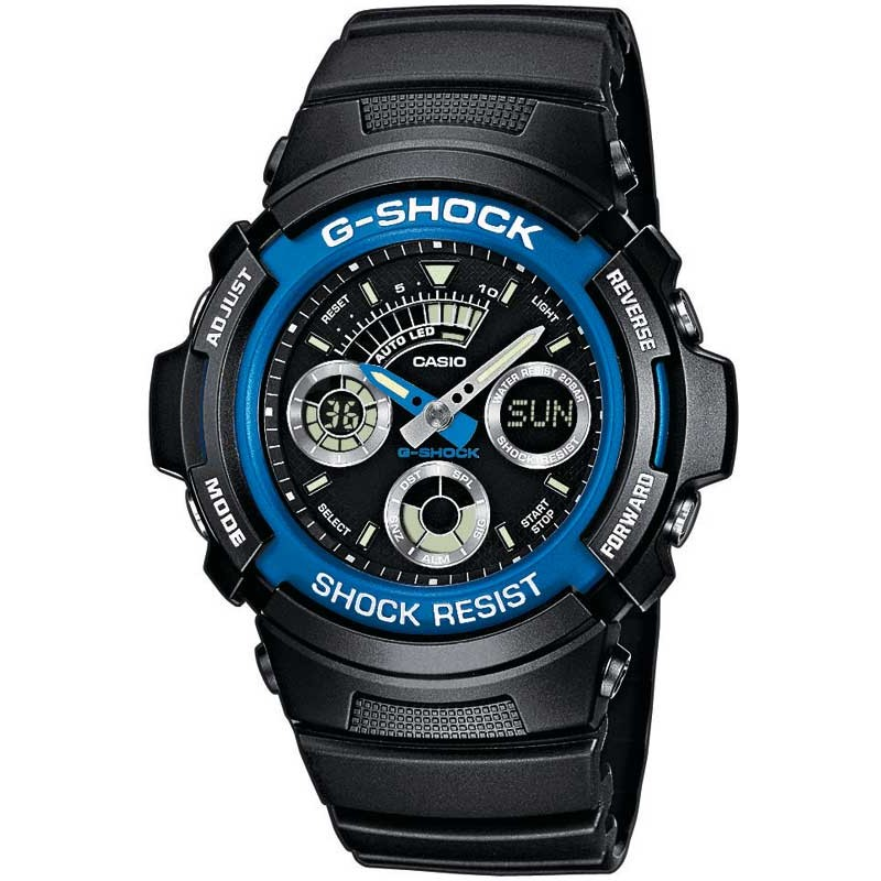 Ceas barbatesc Casio G-Shock AW-591-2AER original de mana