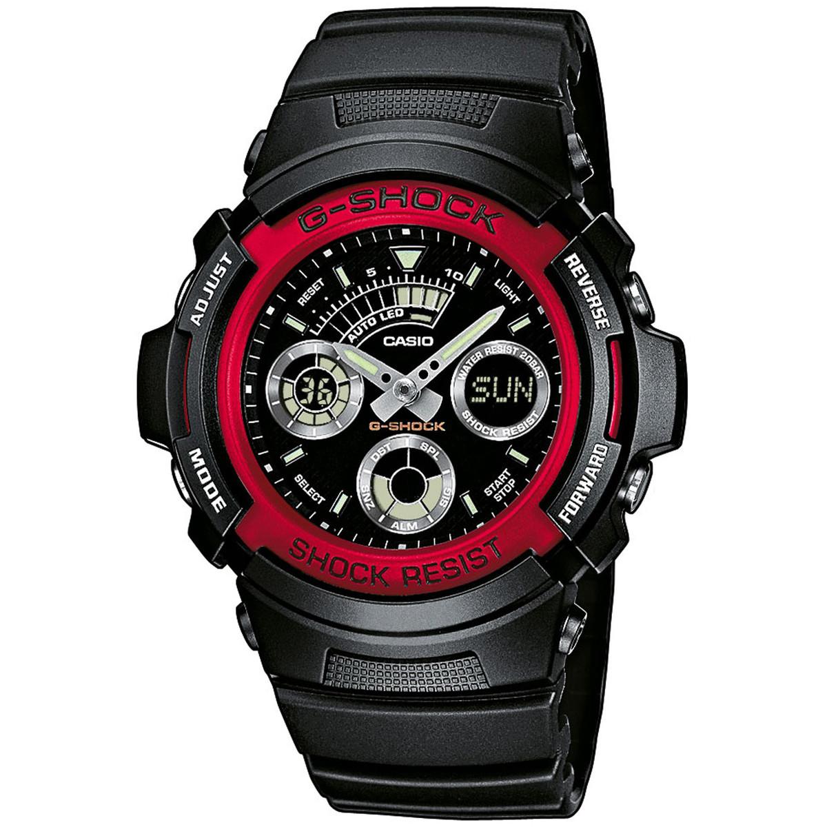 Ceas barbatesc Casio G-Shock AW-591-4AER original de mana