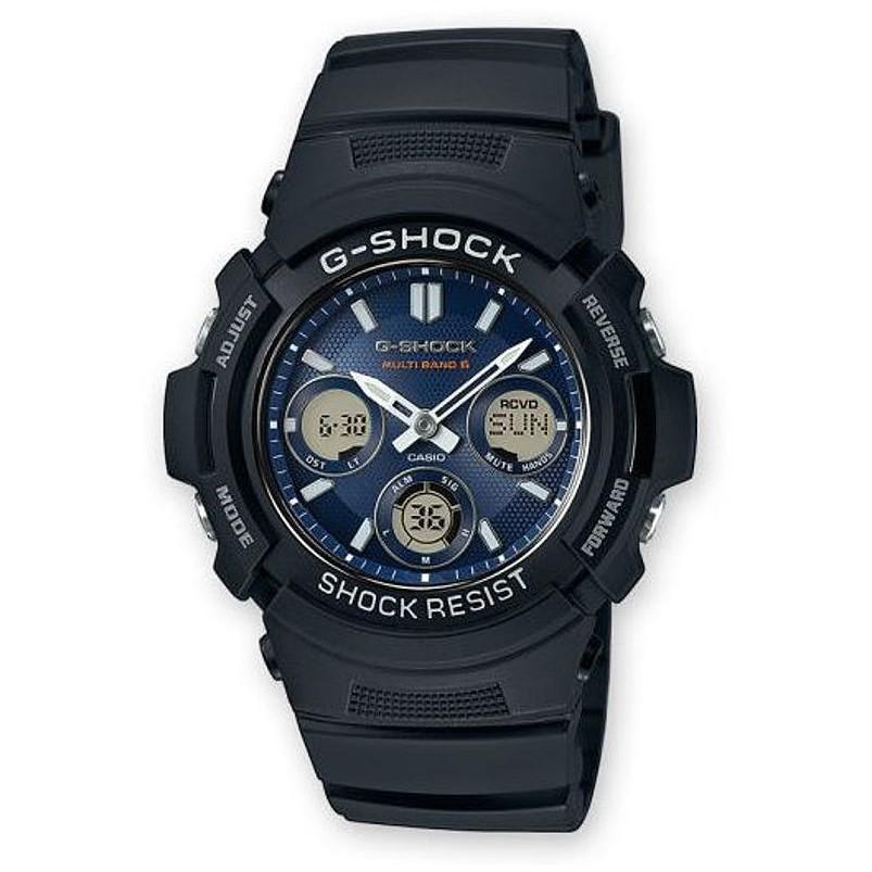 Ceas barbatesc Casio G-Shock AWG-M100SB-2AER original de mana
