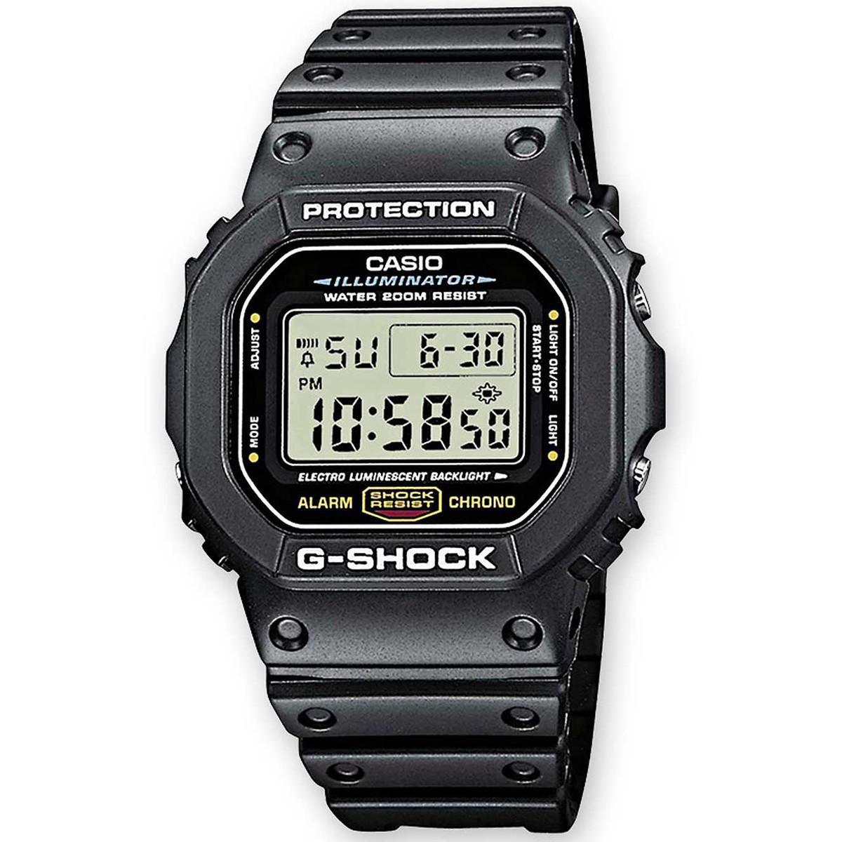 Ceas barbatesc Casio G-Shock DW-5600E-1VER original de mana