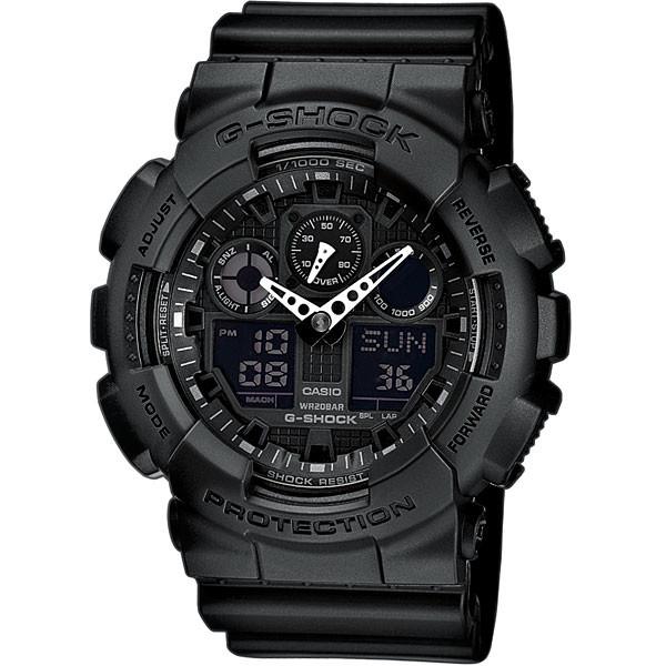 Ceas barbatesc Casio G-Shock GA-100-1A1ER original de mana