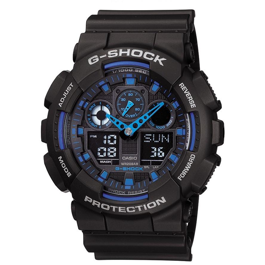 Ceas barbatesc Casio G-Shock GA-100-1A2ER original de mana