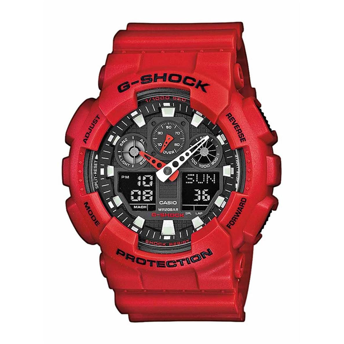 Ceas barbatesc Casio G-Shock GA-100B-4AER original de mana