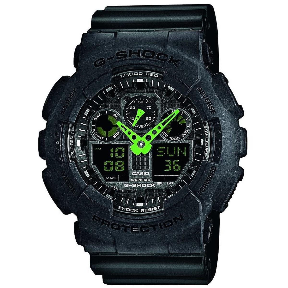 Ceas barbatesc Casio G-Shock GA-100C-1A3ER original de mana