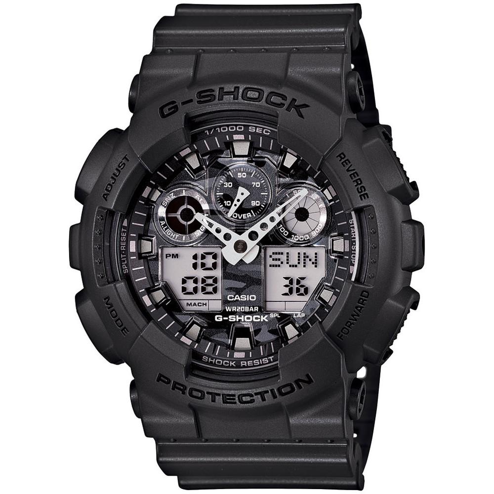 Ceas barbatesc Casio G-Shock GA-100CF-8AER original de mana