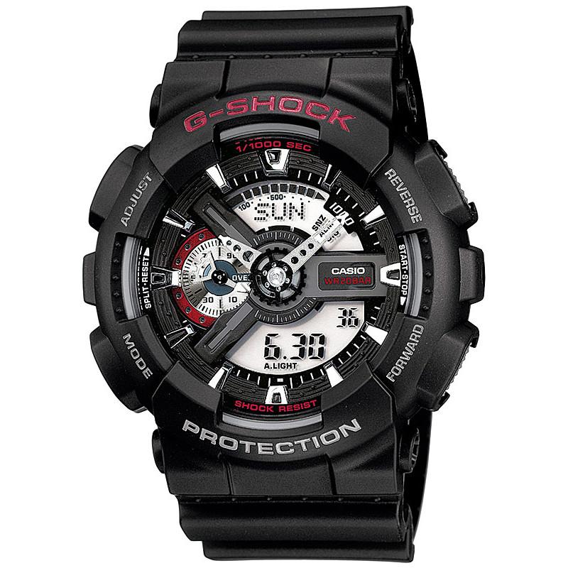 Ceas barbatesc Casio G-Shock GA-110-1AER original de mana
