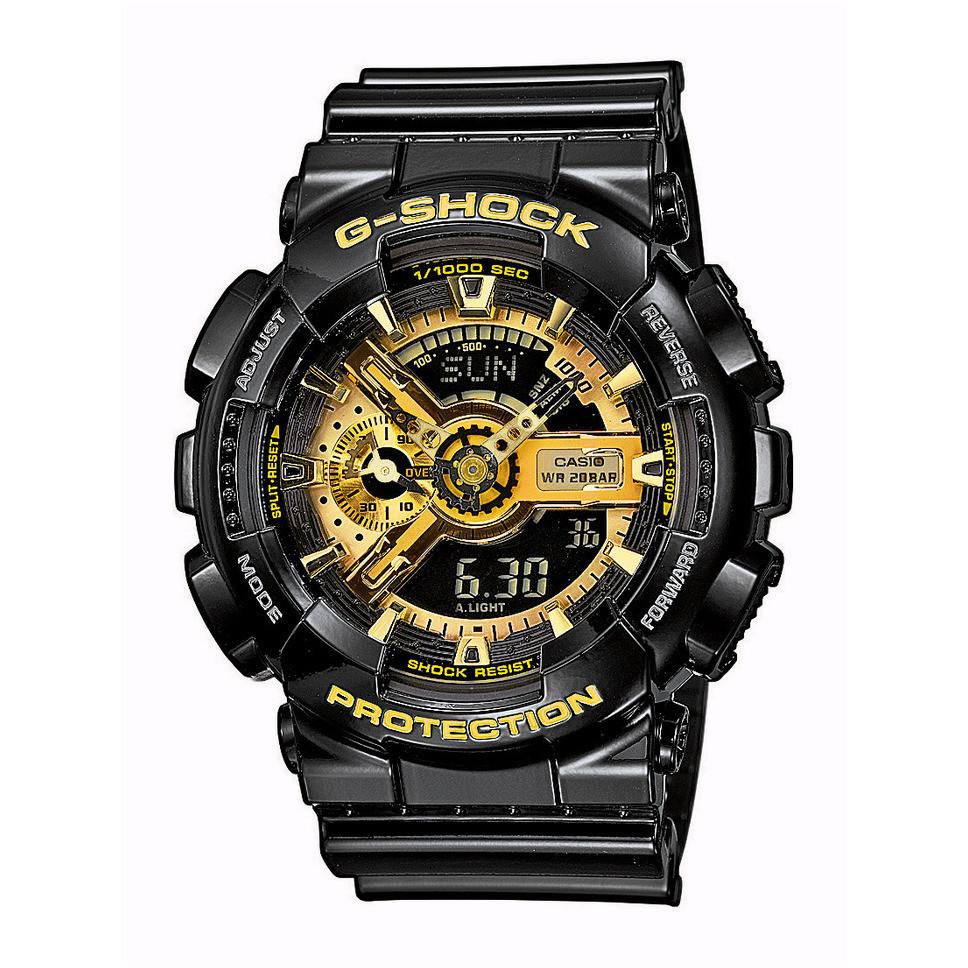 Ceas barbatesc Casio G-Shock GA-110GB-1AER original de mana