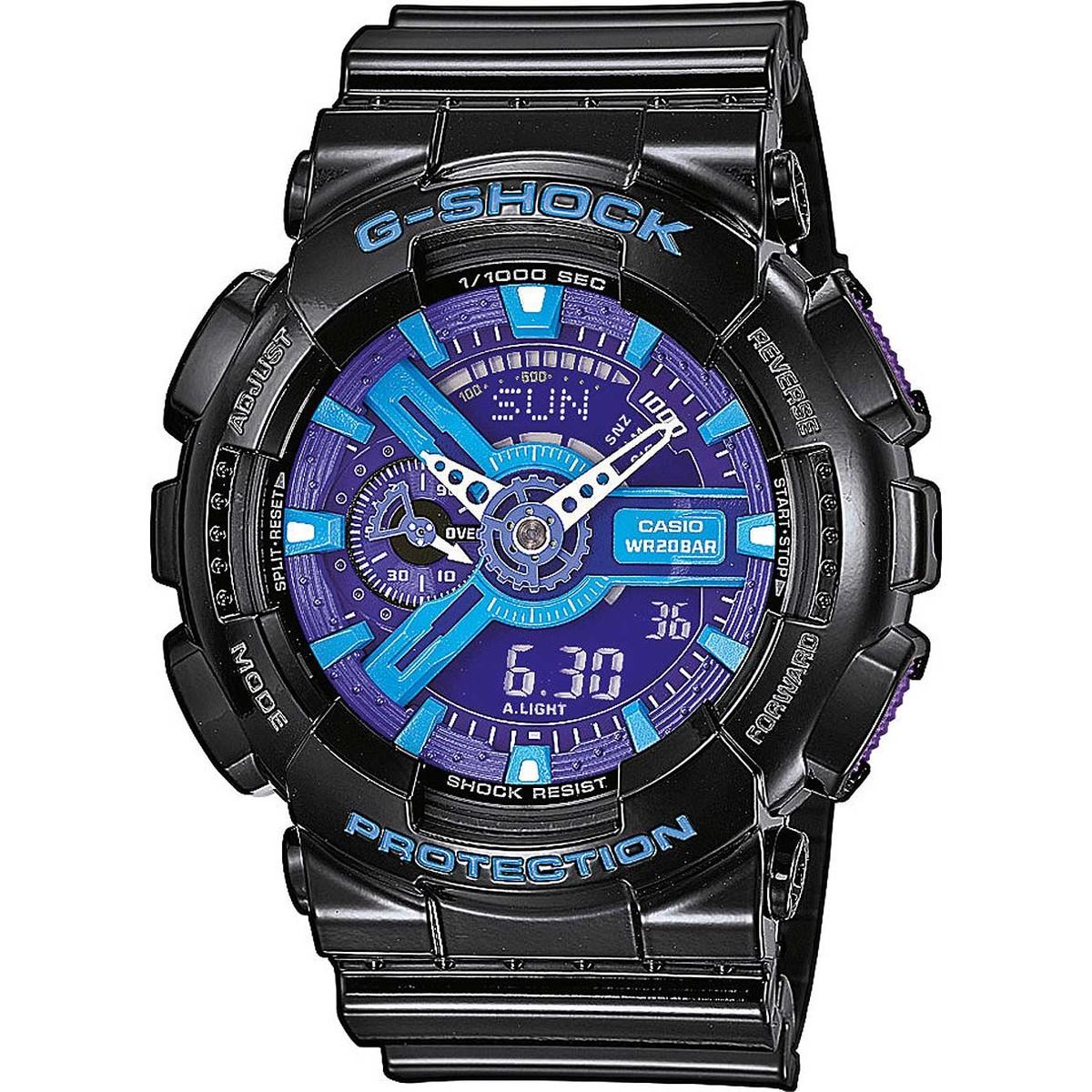 Ceas barbatesc Casio G-Shock GA-110HC-1AER original de mana
