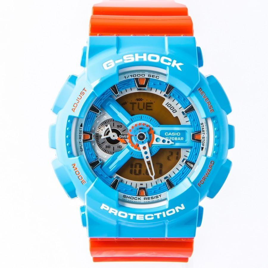 Ceas barbatesc Casio G-Shock GA-110NC-2AER original de mana