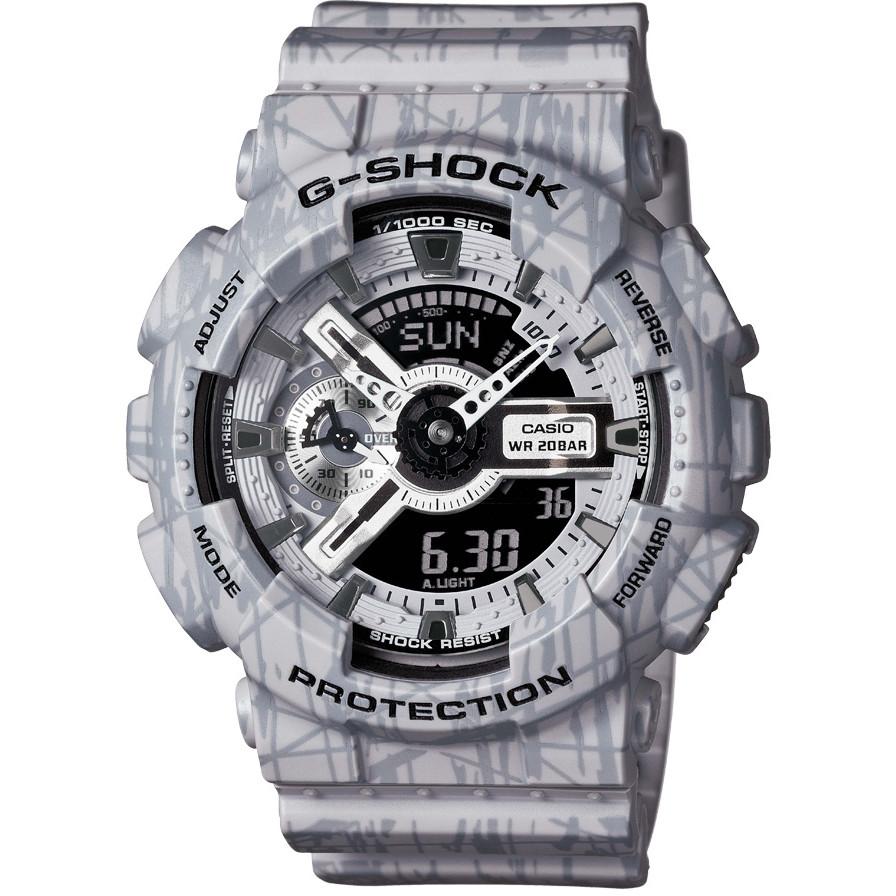 Ceas barbatesc Casio G-Shock GA-110SL-8AER original de mana