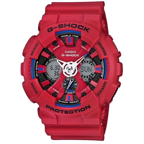 Ceas barbatesc Casio G-Shock GA-120TR-4AER original de mana